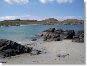 Beach in Islay