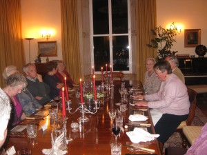 Ann Boulton's farewell dinner - March 2013