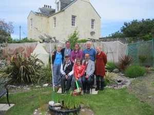 South Kintyre Ministers' fellowship visit to Gigha's Bible garden - June 2013