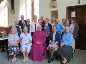 Bishop's visit - July 2013